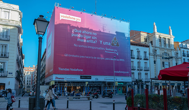 La controvertida campaña de Vodafone