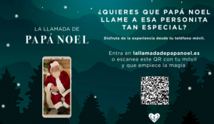 El Corte Inglés invita a los más pequeños a vivir una experiencia mágica con una videollamada de Papá Noel