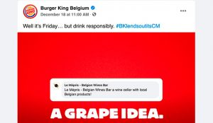 Burger King ofrece a su Community Manager para ayudar a pequeños restaurantes