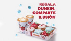 Dunkin' lanza nueva campaña a la vez que su tradicional colección de donuts navideños
