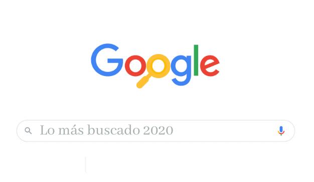 lo más buscado 2020 google