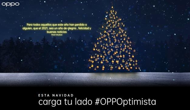 OPPO campaña navidad josie