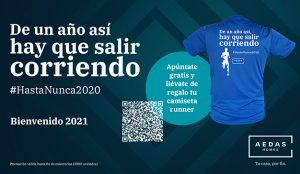 """La campaña navideña de AEDAS Homes invita a """"salir corriendo del 2020"""""""