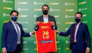 Subway se convierte en Proveedor Oficial de la Federación Española de Baloncesto