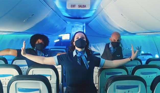 Alaska Airlines Safety Dance