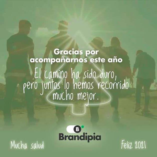 felicitación de Navidad de Brandipia