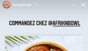 Burger King presta sus 328.000 seguidores de Instagram a pequeños restaurantes