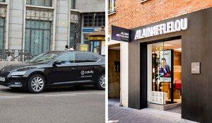 ALAIN AFFLELOU y CABIFY impulsan una iniciativa de movilidad segura para los clientes de audiología