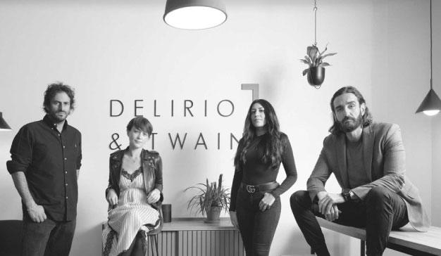 Eva Santos y Mauricio Rocha crean la consultora creativa Delirio & Twain