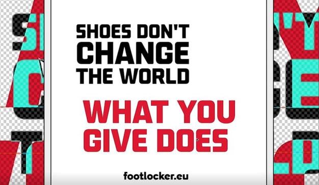 Footlocker give to get campaña navideña solidaria