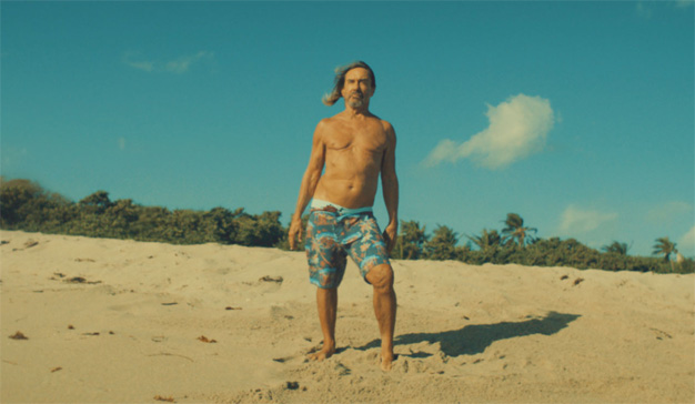 Iggy Pop On The Beach