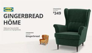 IKEA le anima a hornear muebles de jengibre en esta deliciosa campaña