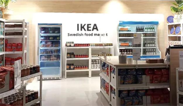 Ikea abre una tienda de alimentación de comida sueca en Barcelona