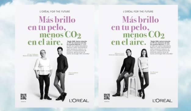 Los empleados de L'Oréal, protagonistas de la nueva campaña de publicidad de la compañía centrada en la sostenibilidad