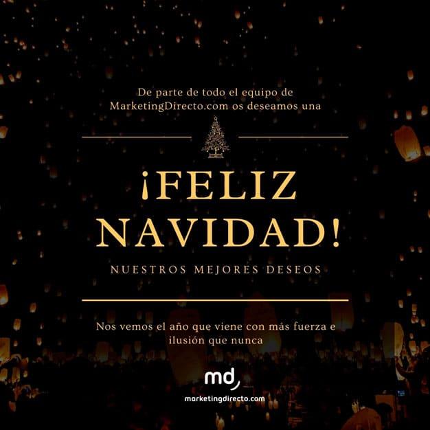 La felicitación de Navidad de MarketingDirecto.com