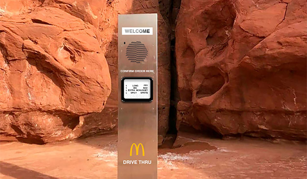 monolito Utah McDonald's