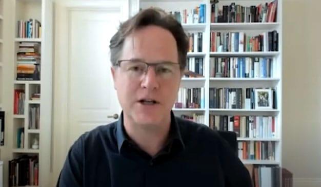 Nick Clegg, VP of Global Affairs en Facebook