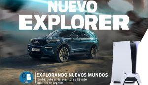 Ford y PlayStation unen fuerzas por el lanzamiento del nuevo Ford Explorer