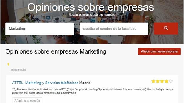 opiniones sobre empresas