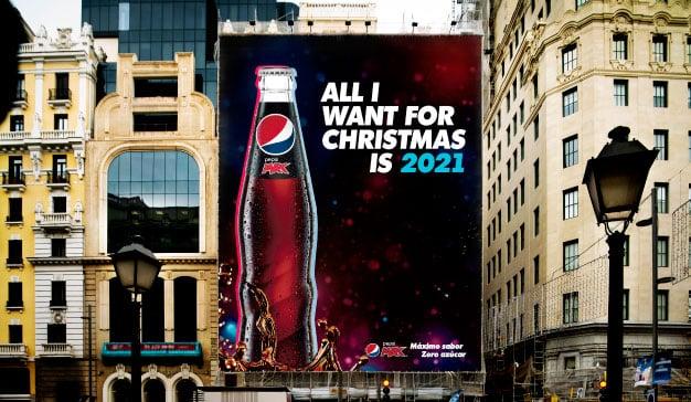"""""""All I want for Christmas is 2021"""": La campaña de Pepsi MAX que resume el año a la perfección"""