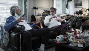 Arthur Sadoun y Maurice Lévy felicitan este año la Navidad en pijama (y con algún kilo de más)