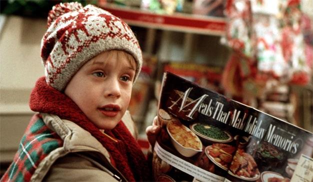Solo en casa películas de Navidad