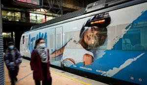 Spotify decora un tren de Cercanías para promocionar lo nuevo de Aitana