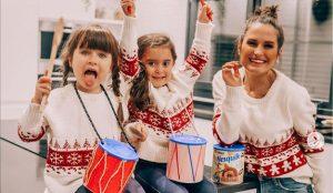 La influencer Verdeliss y sus 7 hijos protagonizan la campaña navideña de Nesquik