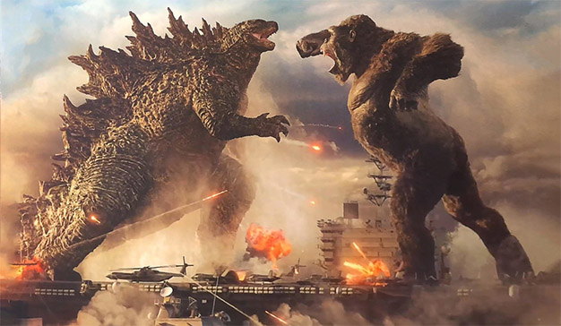 Warner Bros Godzilla vs. King Kong