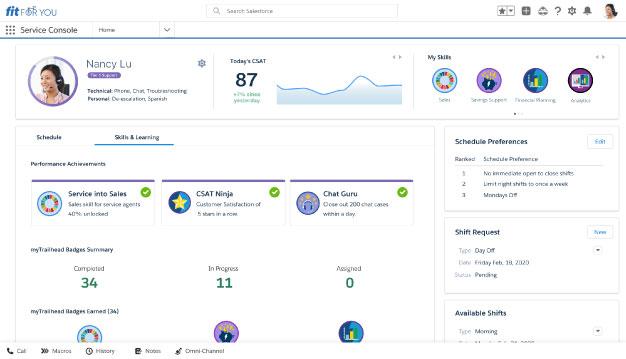 Salesforce presenta Service Cloud Workforce Engagement