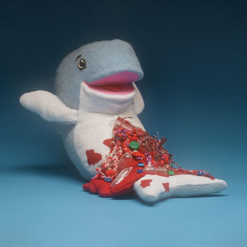 Cutie Polluties Whale Liquid Death
