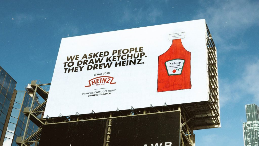 Heinz Draw Ketchup