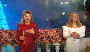 Las campanadas 2020 en TV arrasan en audiencia a las de 2019 sin ayuda de los 'invitados'