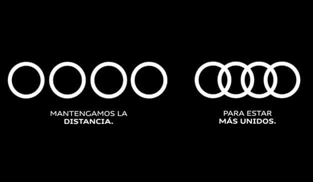 Logo Audi COVID-19