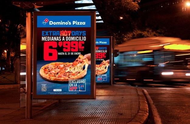 Pieza exterior Extra Hot Days Domino's Pizza