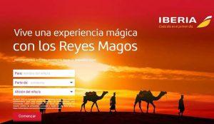 Los Reyes Magos recibieron más de cuatro millones de videollamadas a través de la aplicación de Iberia