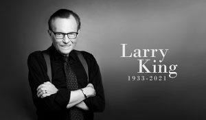 Larry King, la estrella televisiva estadounidense, se apagó a los 87 años