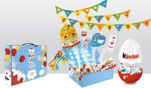 Kinder regala 40 kits de cumpleaños para mantener la ilusión en tiempos de coronavirus