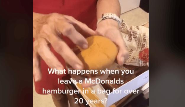 Vídeo hamburguesa McDonald's