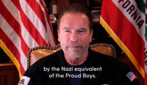 Un mensaje sincero y un estilo cuidado: las claves de la repercusión del vídeo publicado por Schwarzenegger tras el asalto al Capitolio