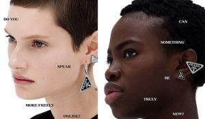 Prada se pone petulantemente existencial en esta campaña (y le llueven los