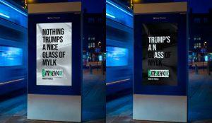 Rebel Kitchen lanza pullas a Trump en esta campaña llena de mensajes ocultos