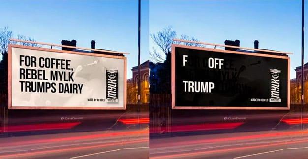 Rebel Kitchen mensajes ocultos Trump