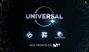 Universal+ aterriza en España de la mano de Movistar+
