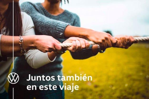 Volkswagen #JuntosTambiénEnEsteViaje