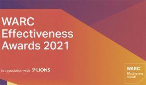 Los Premios a la Eficacia de la WARC 2021 han sido lanzados en colaboración con LIONS