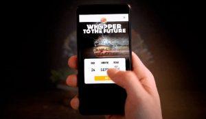 Burger King permite a sus fans enviar una Whopper al futuro (más incierto que nunca)