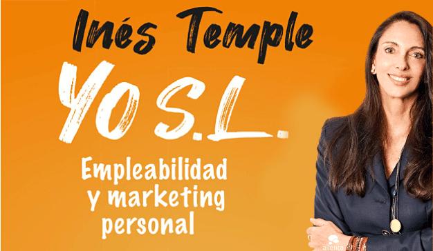 Yo SL nuevo libro de Inés Temple sobre empleabilidad