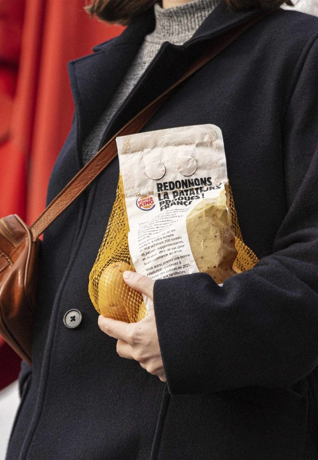 Burger King regalará un kilo de patatas a sus clientes