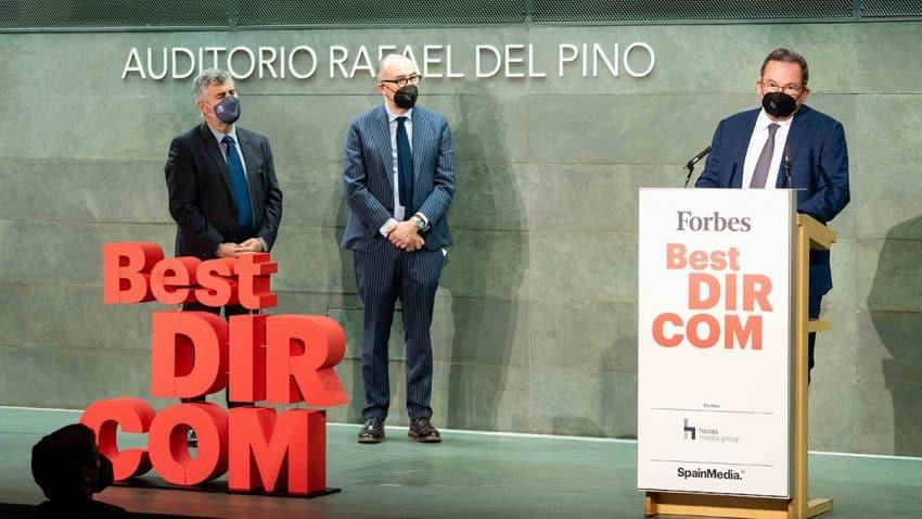 Eduardo Navarro de Carvalho, director de Comunicación de Telefónica, ganador del premio Forbes BEST DIRCOM 19-20
